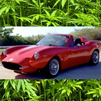 Cannabis sports car