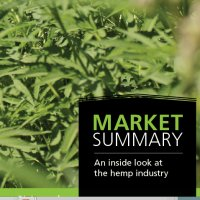 USA industrial hemp product sales