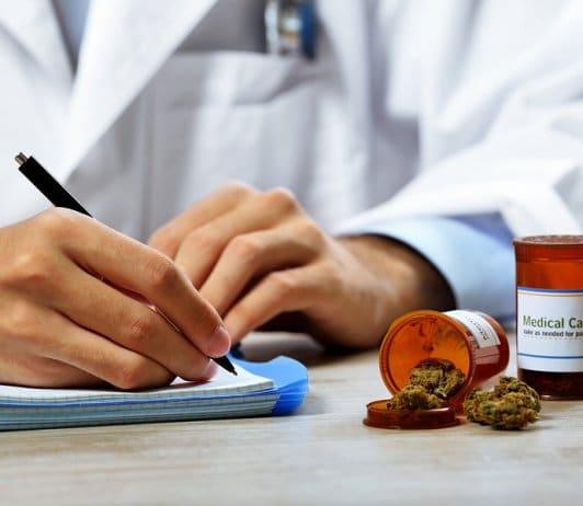 Doctors' medicinal marijuana views