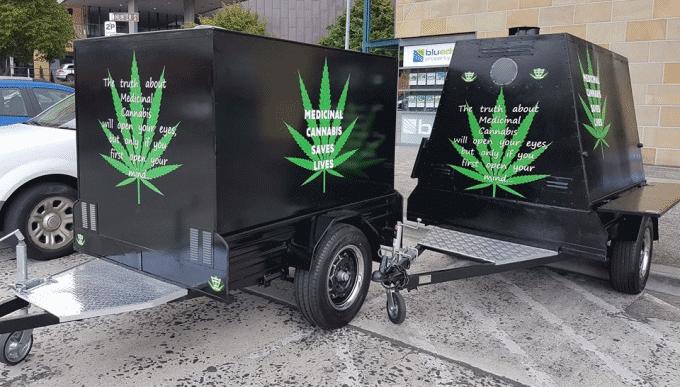 Medical cannabis education trailers -Tasmania