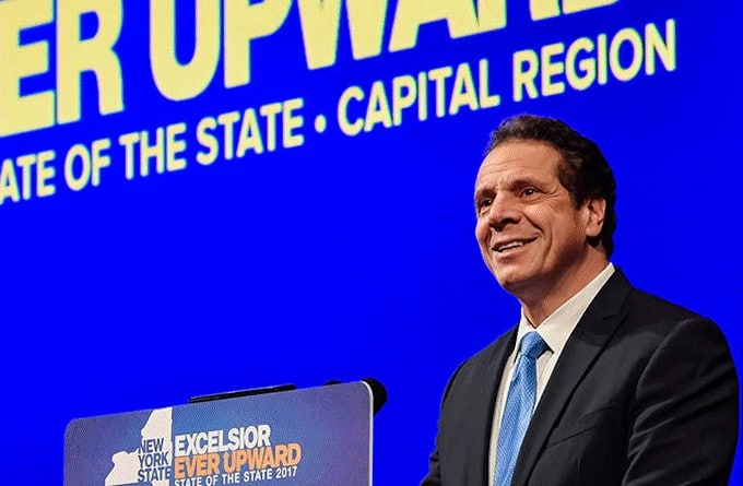 New York Governor Andrew Cuomo - Industrial Hemp