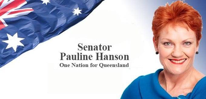 Pauline Hanson - Medicinal Marijuana