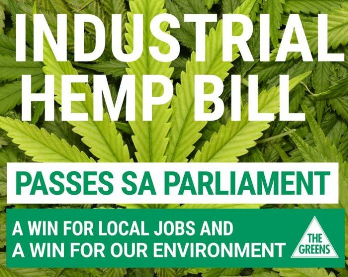 Industrial hemp bill South Australia