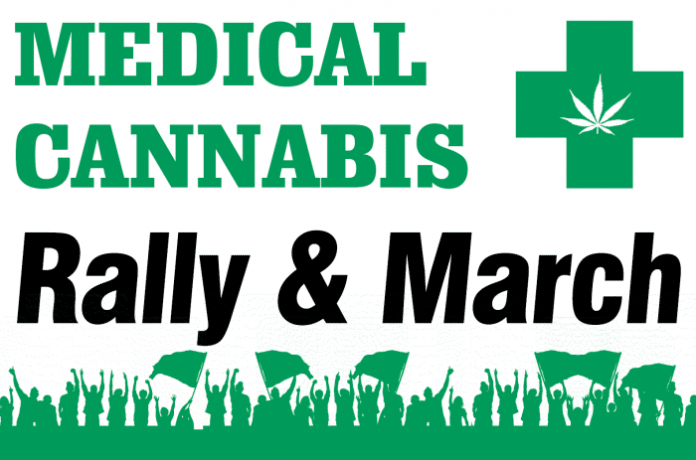 Medical cannabis rally - New Zealand