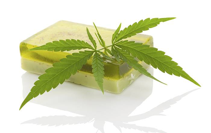 Hemp skin care - soap