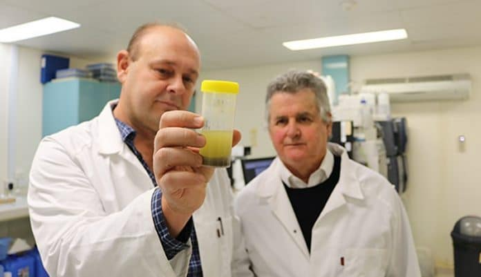 Hemp seed power - water decontamination