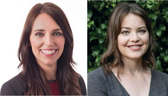 Jancinda Ardern and Julie Anne Genter