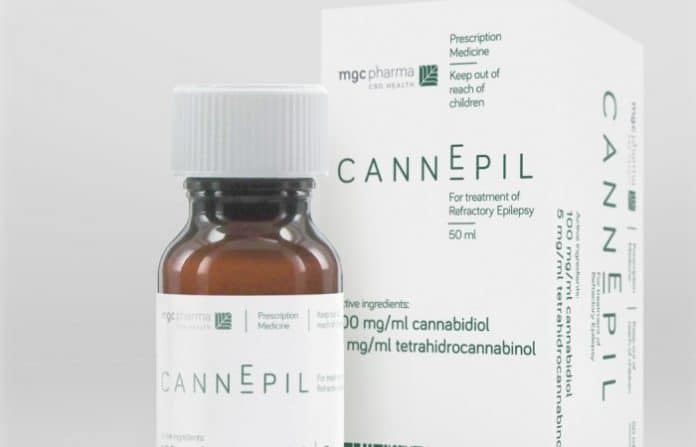 MGC Pharmaceuticals - CannEpil