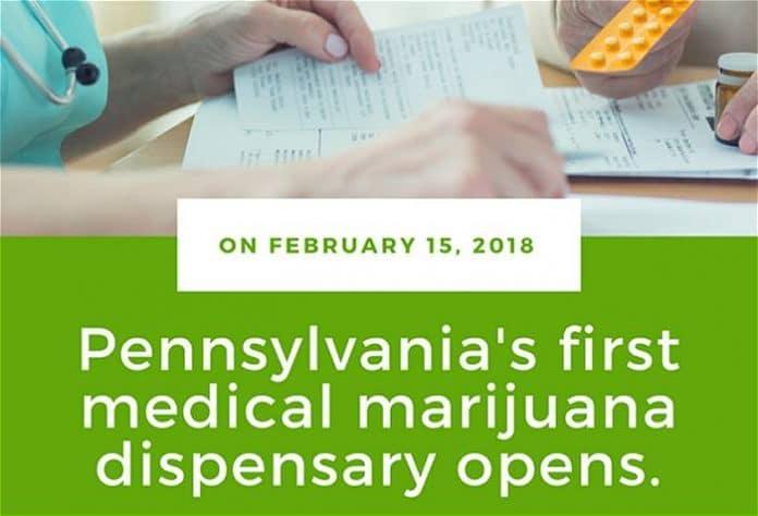 Cannabis dispensaries opening in Pennsylvania