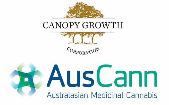 Auscann and Canopy Growth