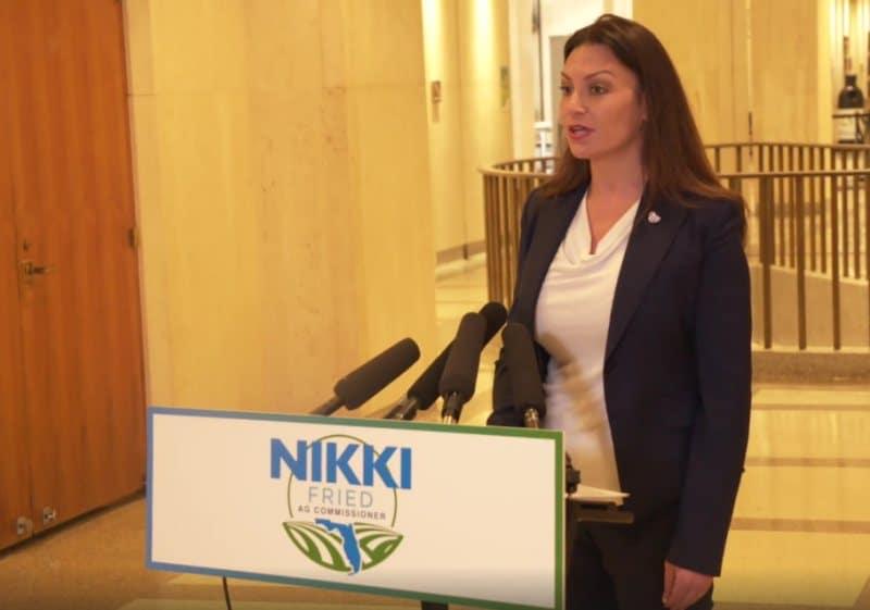 Wells Fargo rejects Florida candidate Democrat Nikki Fried