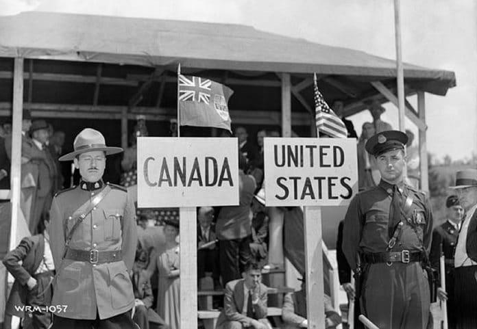 Canada - US border