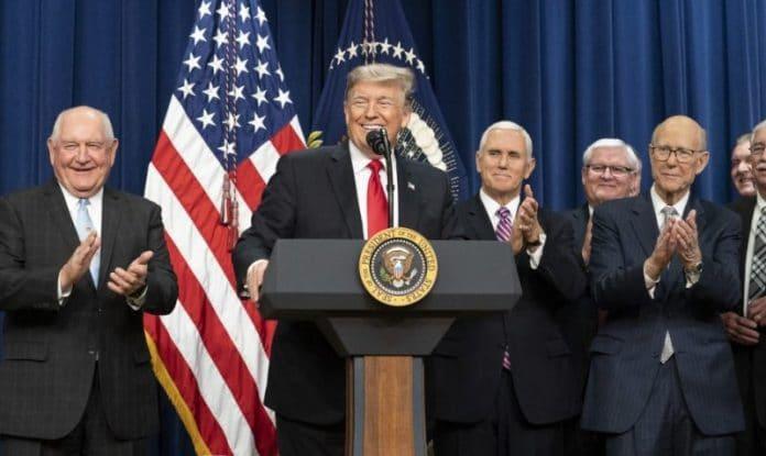 President Donald Trump - Industrial Hemp