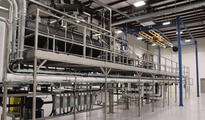 Hemp CBD extraction facility