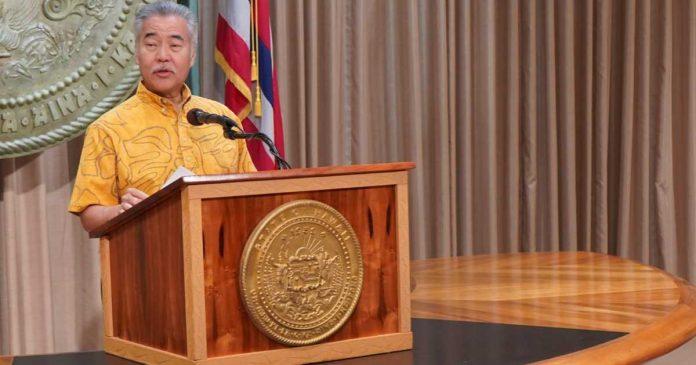 Hawaii Governor David Ige - Hemp