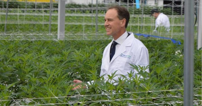 Greg Hunt - Medifarm medical cannabis facility