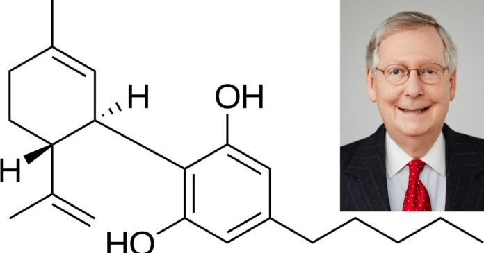 McConnell takes on FDA over cannabidiol
