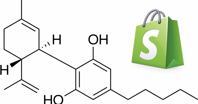Shopify and cannabidiol
