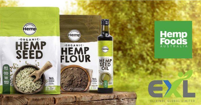 Elixinol Global and Hemp Foods Australia