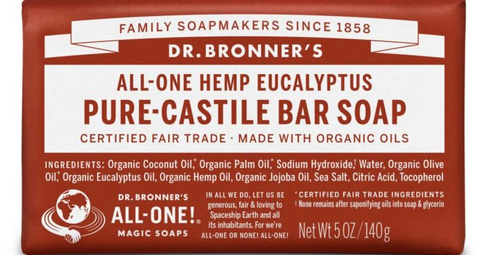 Dr Bronner's - hemp seed oil