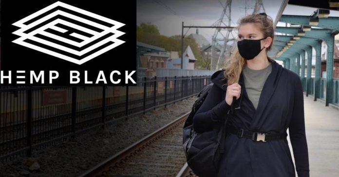 Hemp Black face mask