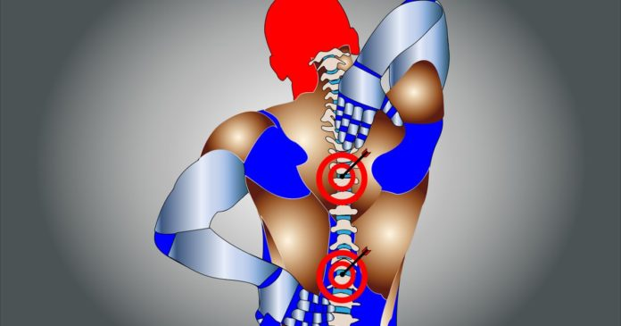 Cannabidiol and spine injury chronic pain