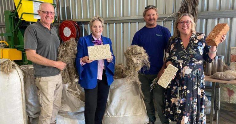 Hemp Processing Starts In Western Australia's South-West