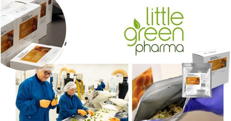 Little Green Pharma Receives First Danish Cannabis Shipment
